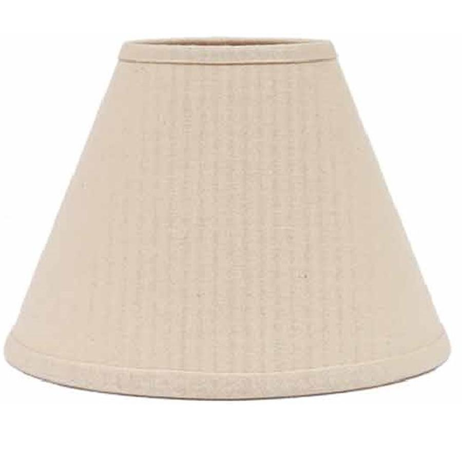 "Buttermilk Farm House Solid 12"" Lampshade - Interiors by Elizabeth"