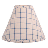 "Colonial Blue-Osenburg Summerville 14"" Lampshade - Interiors by Elizabeth"