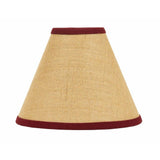 Barn Red - Wheat Burlap Stripe 14