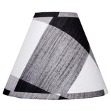 "Buffalo Check 14"" Washer Black - White - Interiors by Elizabeth"