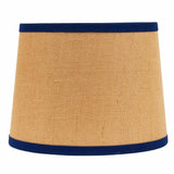 Burlap with Cobalt Trim 16