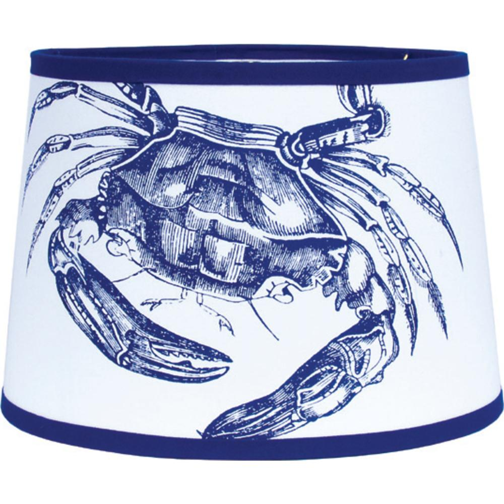 "Crab 16"" Washer Tapered Drum - Interiors by Elizabeth"