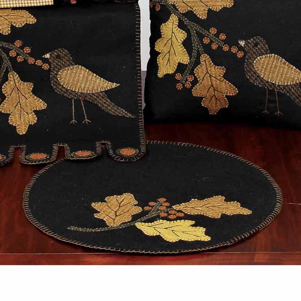 Good Harvest Candle Mat - Set of Two - Interiors by Elizabeth