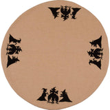 Witches Brew Nutmeg Candlemat - Set of Two - Interiors by Elizabeth