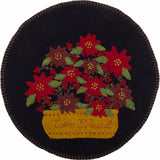 Ever Blessed Candle Mat Black - Set of Two - Interiors by Elizabeth