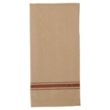 Grain Sack-Barn Red Grain Sack Stripe Barn Red Towel - Set of Two - Interiors by Elizabeth