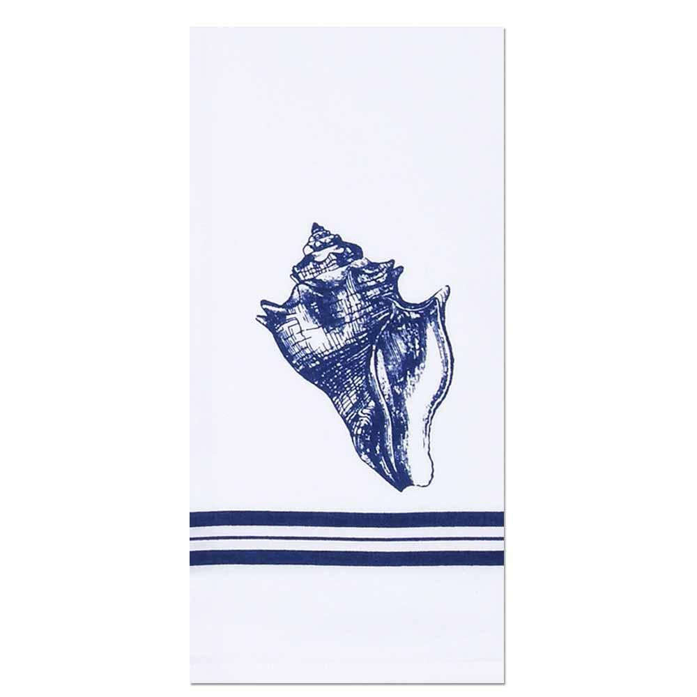 Conch Shell Towel - Set of Two - Interiors by Elizabeth