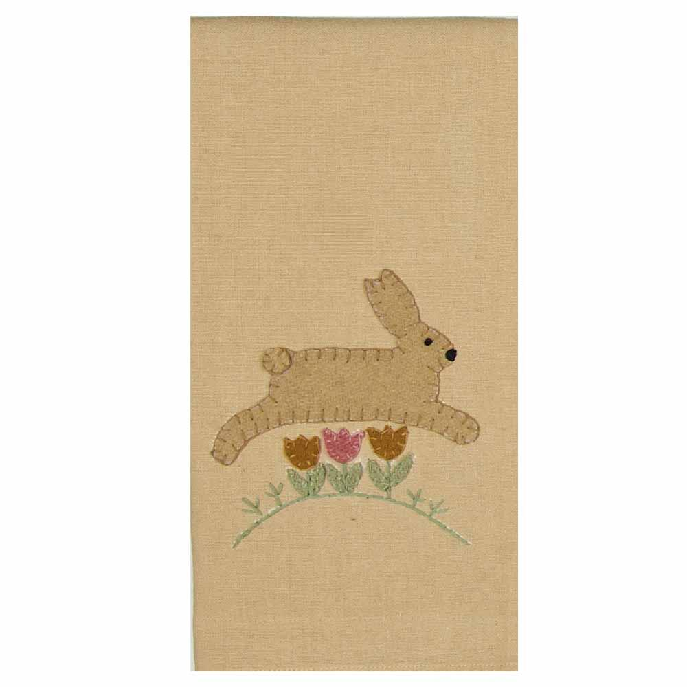 Nutmeg - Buttermilk Hippity Hop Towel - Set of Two - Interiors by Elizabeth