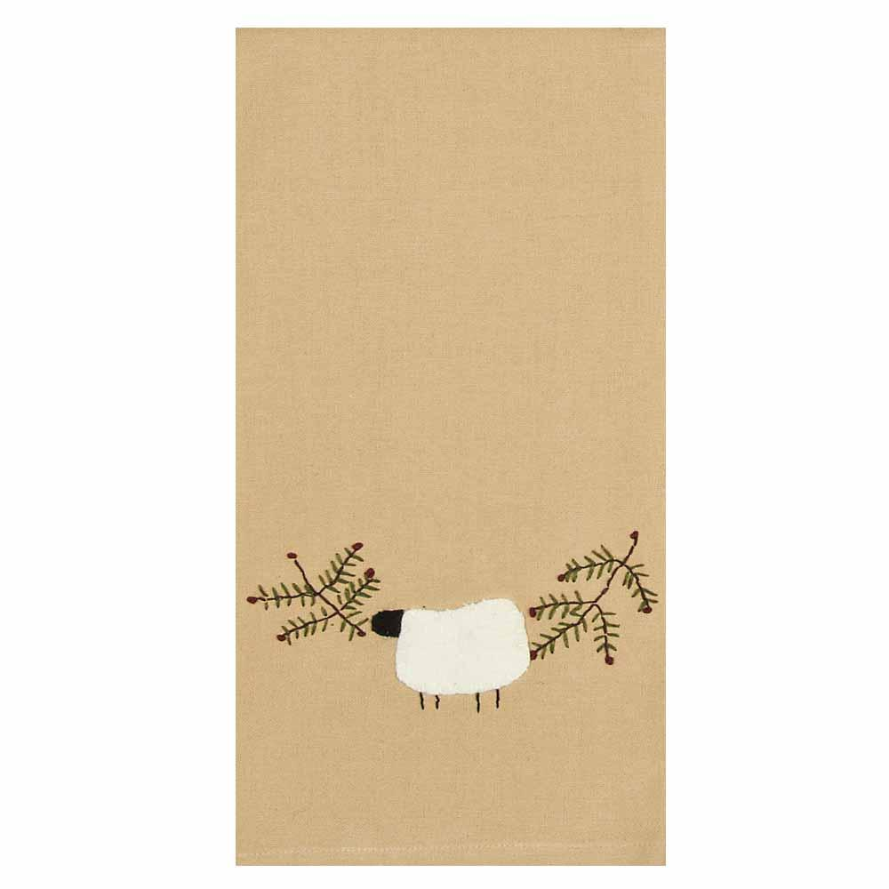Sheep And Vine Towel - Set of Two - Interiors by Elizabeth