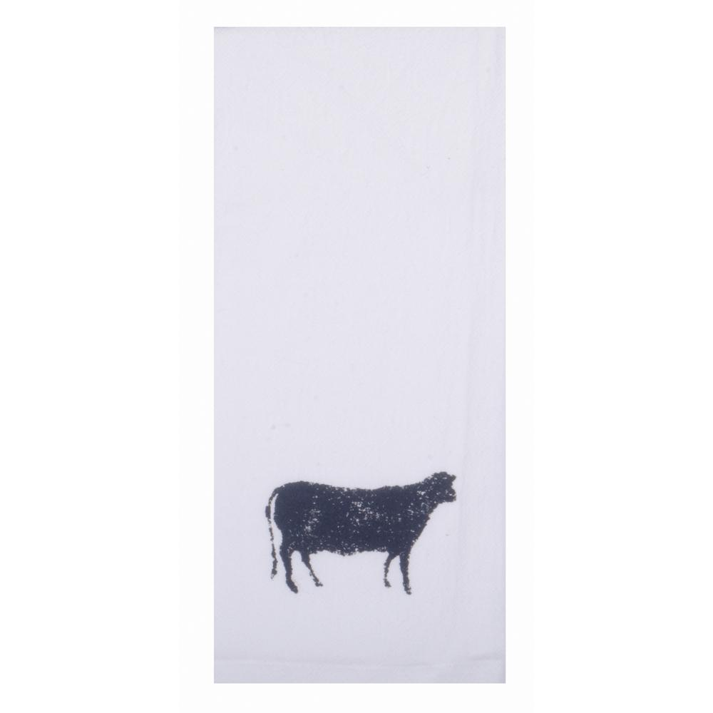 "Farmhouse Sheep 18"" x 28"" White - Set of 2 - Interiors by Elizabeth"