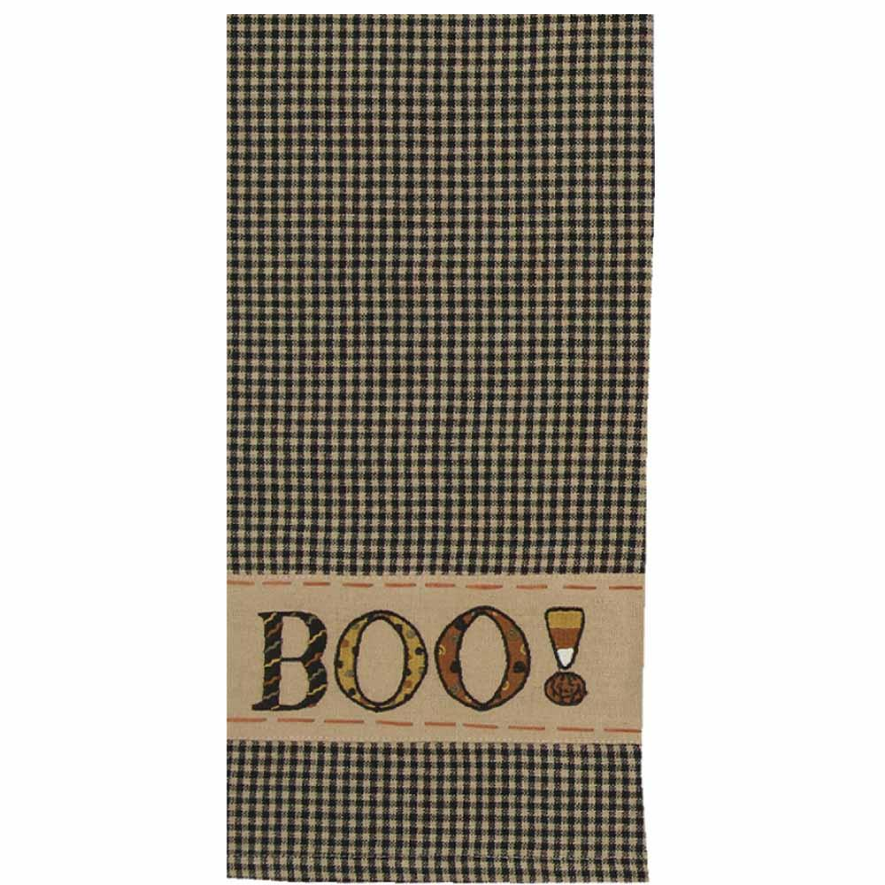 Boo Towel - Set of Two - Interiors by Elizabeth