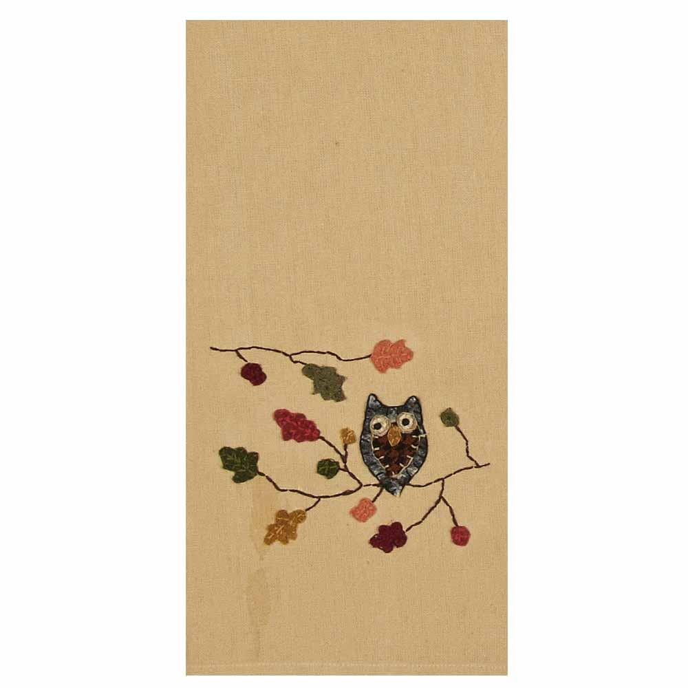 Harvest Owl Towel - Set of Two - Interiors by Elizabeth
