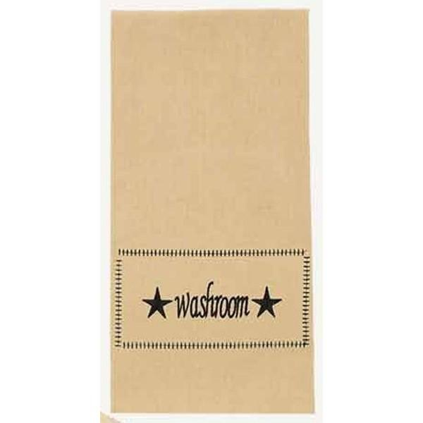 Nutmeg - Black Washroom Towel - Set of Two - Interiors by Elizabeth