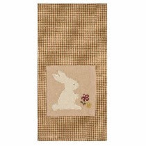 Nutmeg Easter Bunny Towel - Set of Two - Interiors by Elizabeth