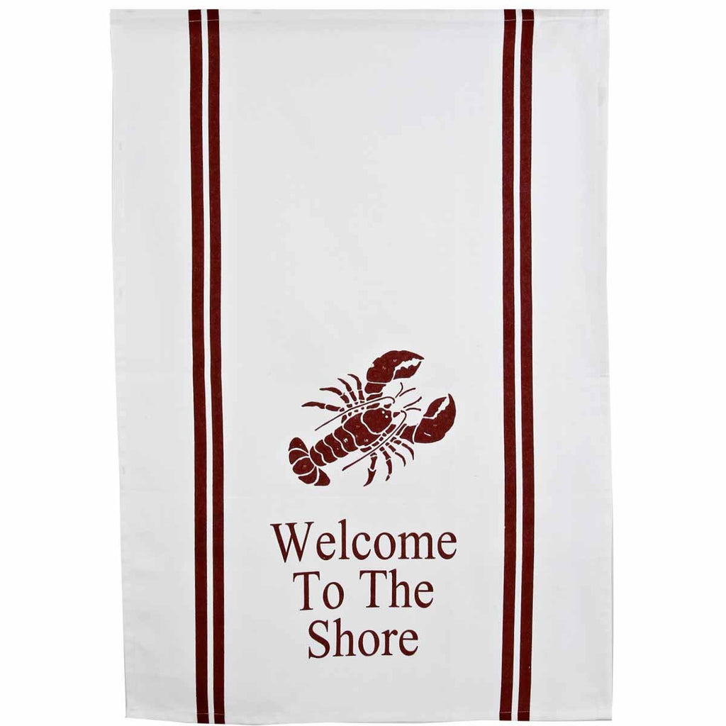Welcome to the Shore Towel - Set of Two - Interiors by Elizabeth