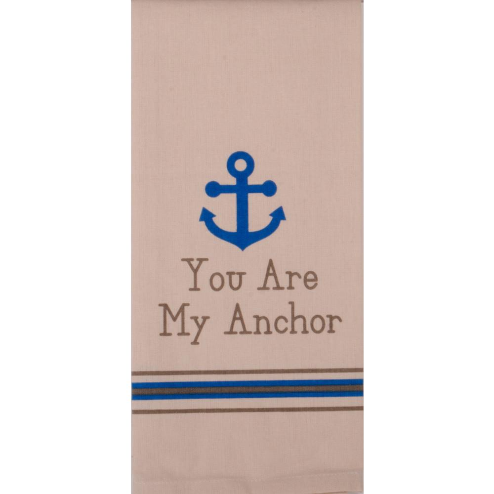 You Are My Anchor Towel - Set of Two - Interiors by Elizabeth