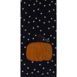 Starry Starry Pumpkin Black Towel - Set of Two - Interiors by Elizabeth