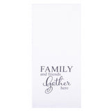 "Family & Friends 18"" x 28"" White - Set of 2 - Interiors by Elizabeth"