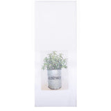 "Rosemary 18"" x 28"" White - Set of 2 - Interiors by Elizabeth"