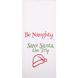 Be Naughty  Towel -  Interiors by Elizabeth