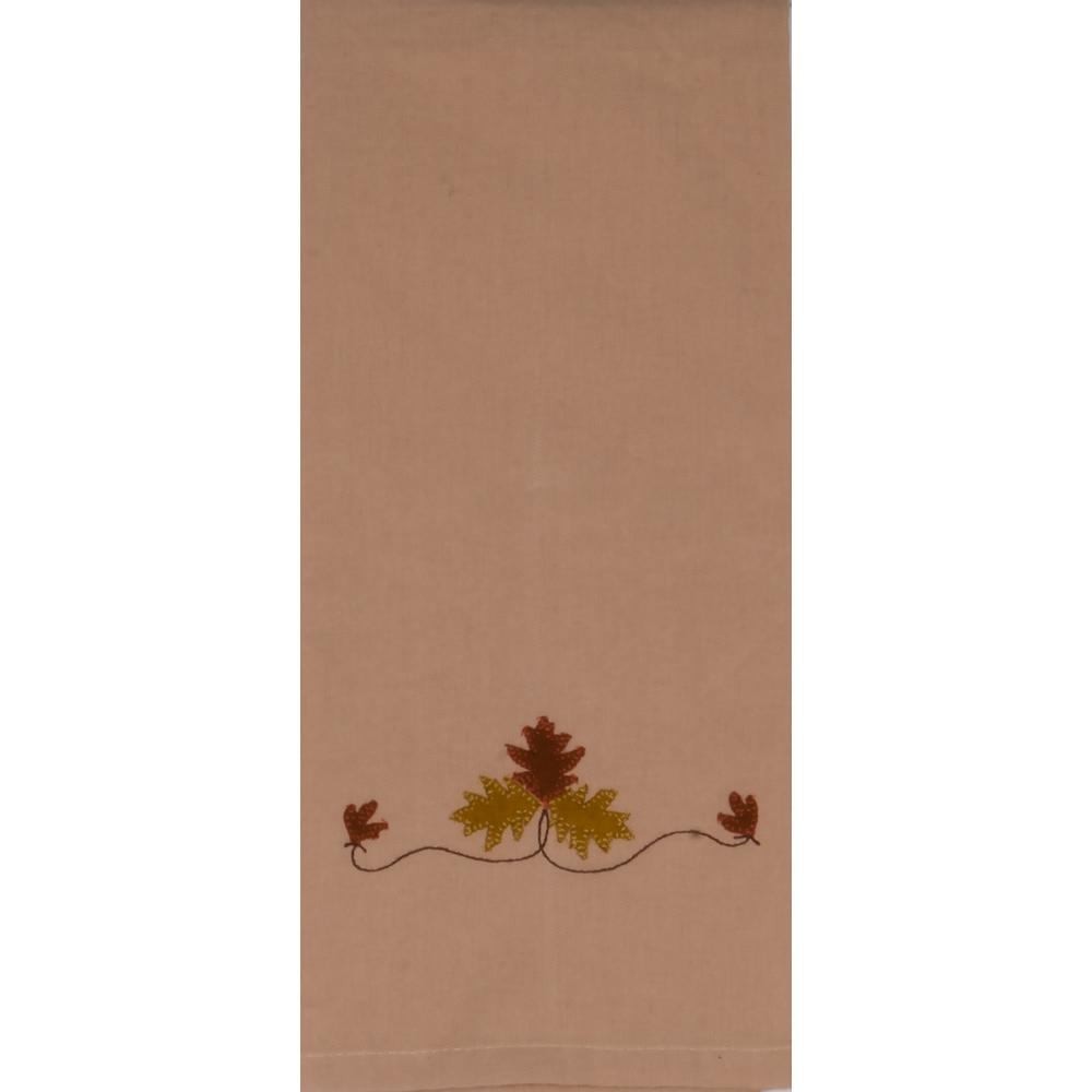 Fall Medley Nutmeg Towel - Set of Two - Interiors by Elizabeth