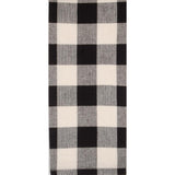 Black-Buttermilk Buffalo Check Towel - Set of Six - Interiors by Elizabeth