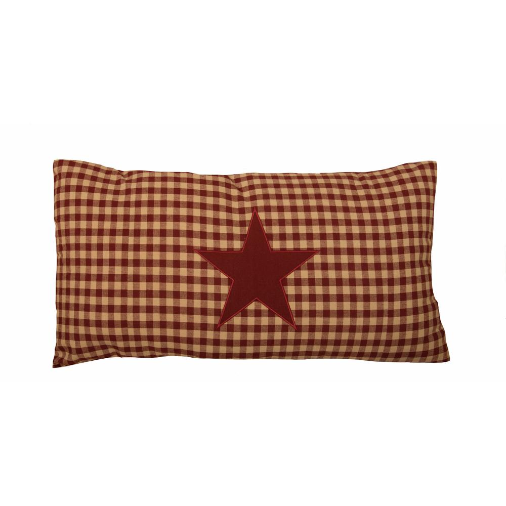Heritage House Star Lumbar Pillow Cover-  Interiors by Elizabeth