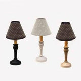 Black Wellington Spindle Accent Lamp