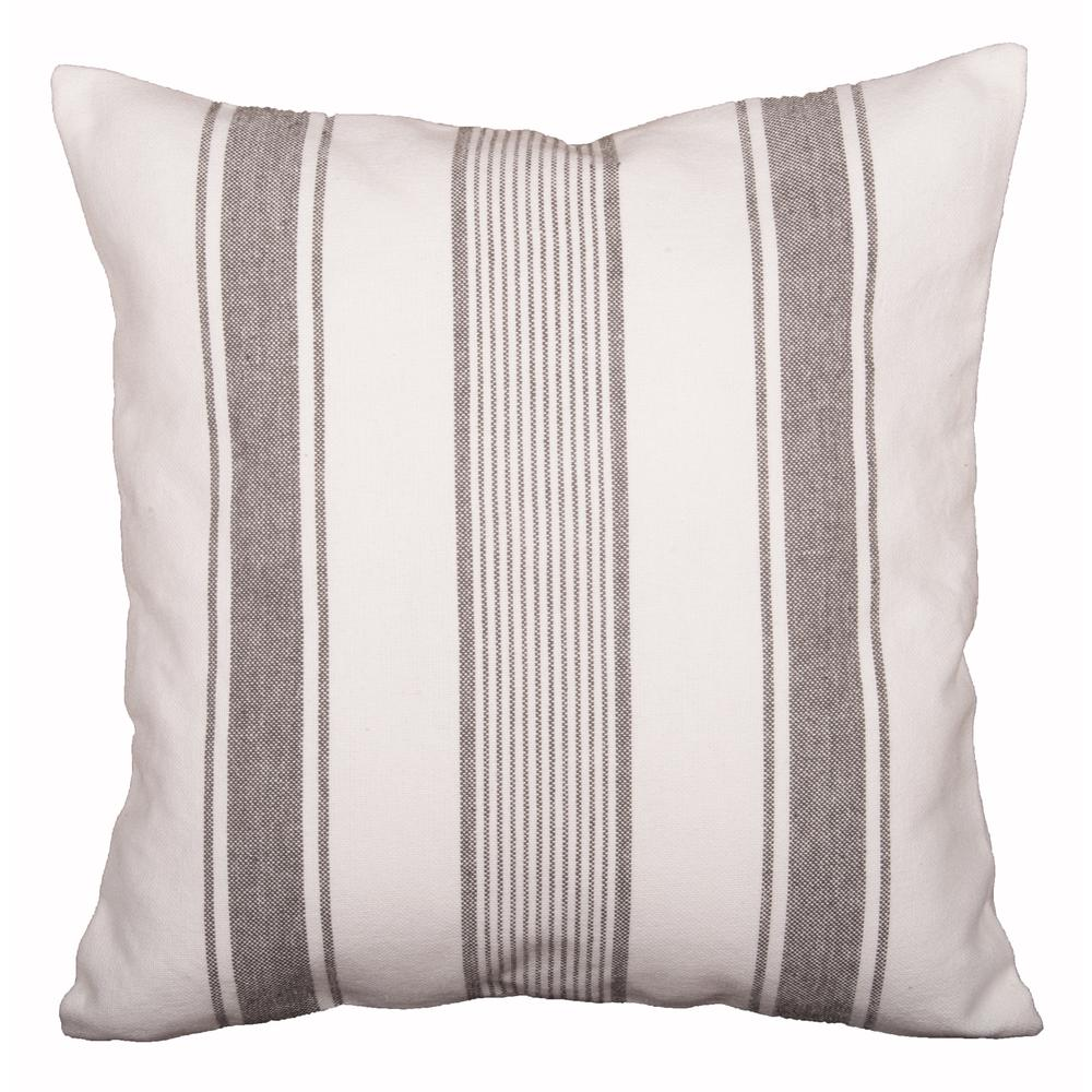 Up Country Stripe  pillow cover-  Interiors by Elizabeth