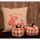 Happy Fall Y'all Truck  Pillow -  Interiors by Elizabeth