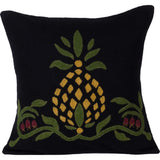 Black Home Sweet Home Pineapple Pillow - Interiors by Elizabeth