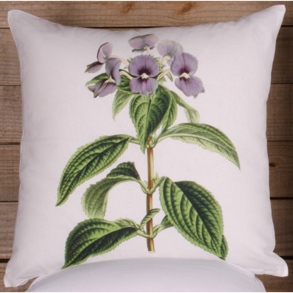 Violet Pillow Cover - Interiors by Elizabeth