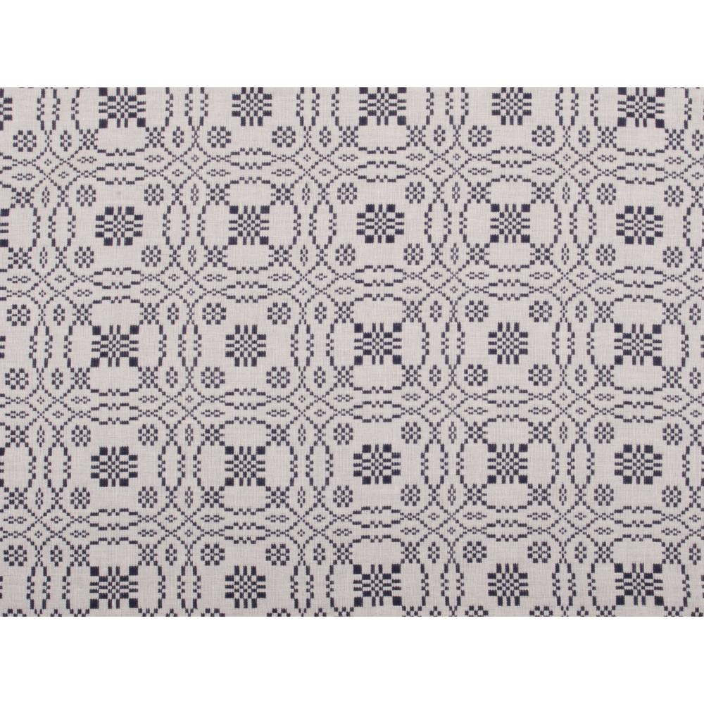 Loverƒ??s Knot Jacquard Placemat Cream - Indigo - Set of Six - Interiors by Elizabeth