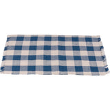 Colonial Blue-Buttermilk Buffalo Check Placemat - Set of Six - Interiors by Elizabeth