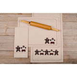 Gingerbread Buttermilk Placemat - Set of Six - Interiors by Elizabeth