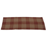 Oat-Barn Red Chesterfield Check Barn Red Table Runner - Interiors by Elizabeth