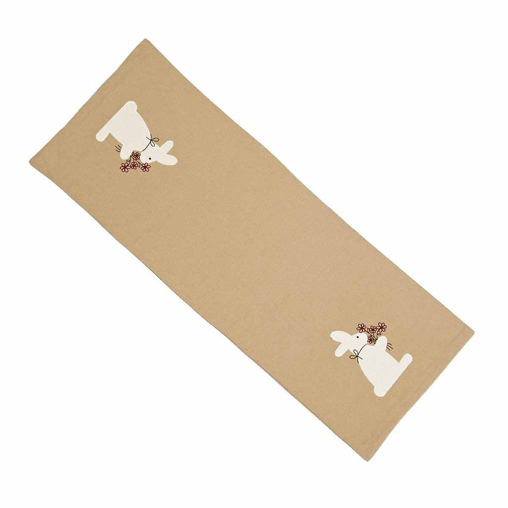 Nutmeg Bunny Bouquet Table Runner - Interiors by Elizabeth