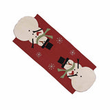 Snow Guy Table Runner - Interiors by Elizabeth