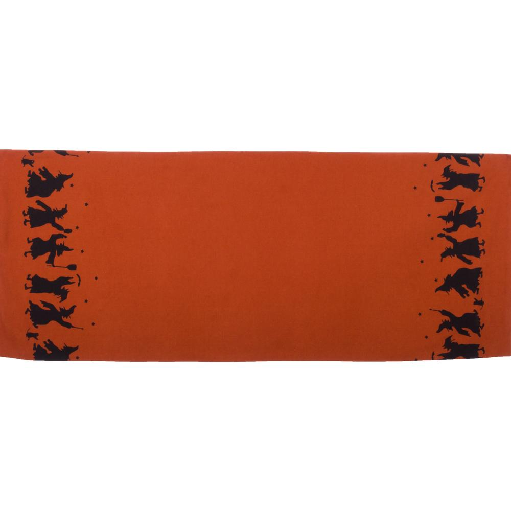 Making Magic Table Runner Orange - Interiors by Elizabeth