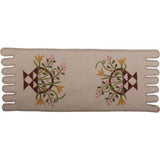 Flower Basket Table Runner Cream - Interiors by Elizabeth