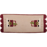 Cut Your Own Table Runner Nutmeg - Barn Red - Interiors by Elizabeth
