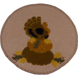 Turkey Nutmeg Table Runner - Interiors by Elizabeth