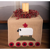 Sheep Table Runner-  Interiors by Elizabeth