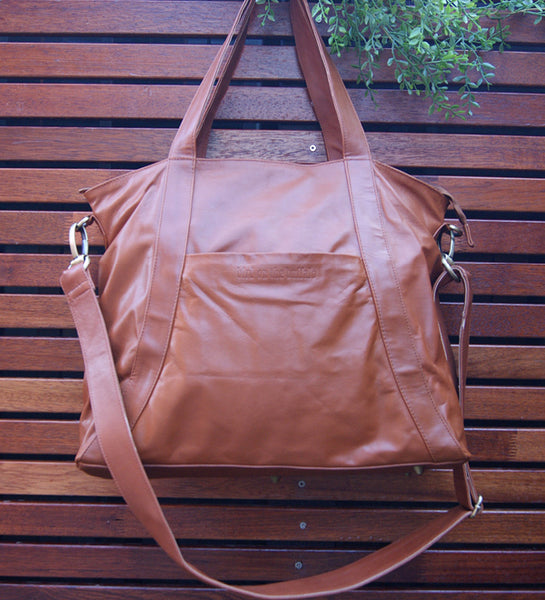 Myna Tote with Backpack Conversion