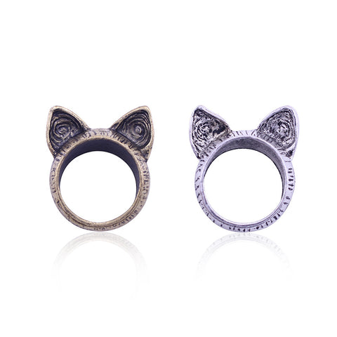 Catty Ears Ring