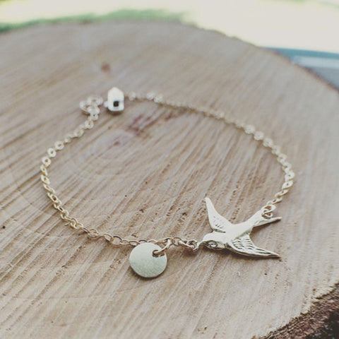 Dove And Peace Bracelet