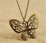 Hollow Butterfly Necklace