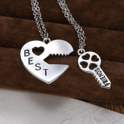 Keys To Heart Necklace
