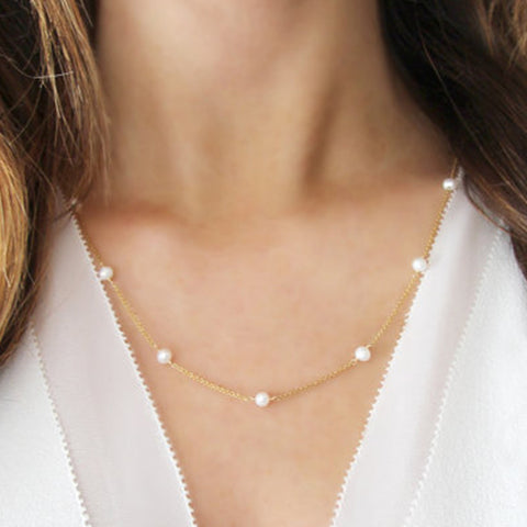 Pearls for days Necklace