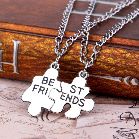 Puzzle Piece Friendship Necklace